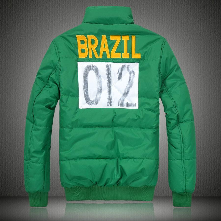 ralph lauren doudoune manteau hommes big pony populaire 2013 drapeau  national brazil vert Convenir à la plupart des modèles Magasins d escompte 5224d506a8e