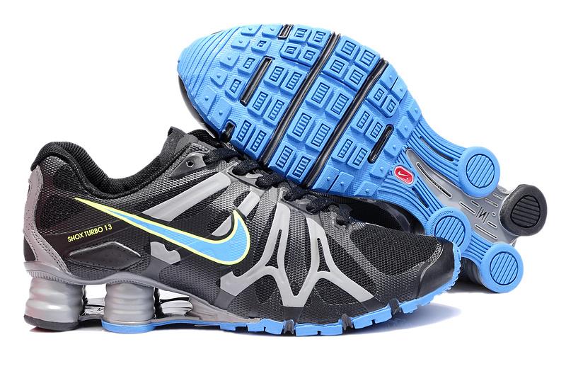 Nike Shox Noir Et Or