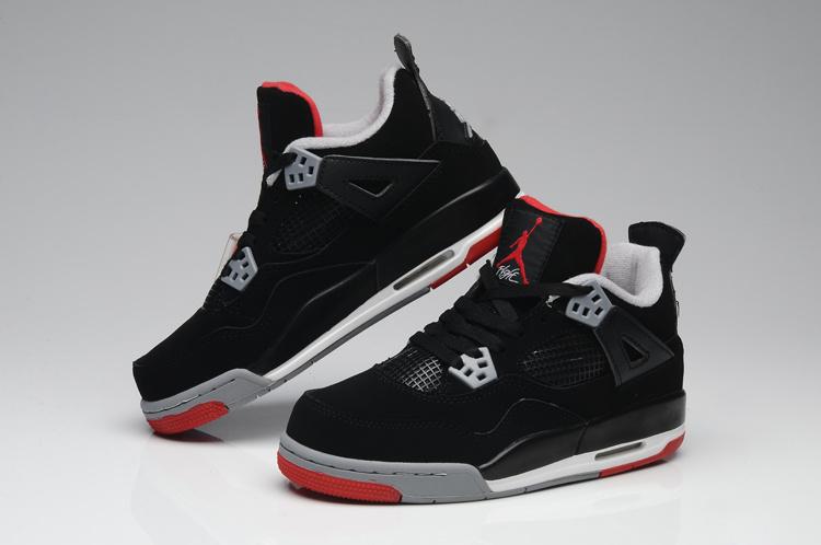 Air Jordan Noir Et Gris Femme