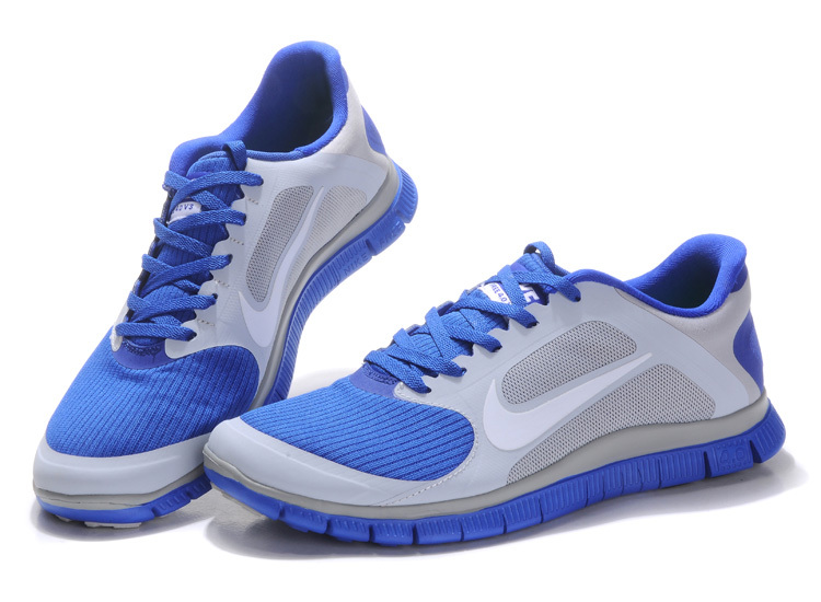 Nike Free 4.0 V3 Homme Bleu