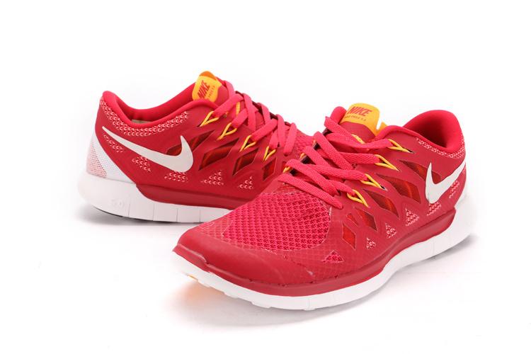 Run 2 Nike Free Trainer 5.0 Orange Air Max France 2014