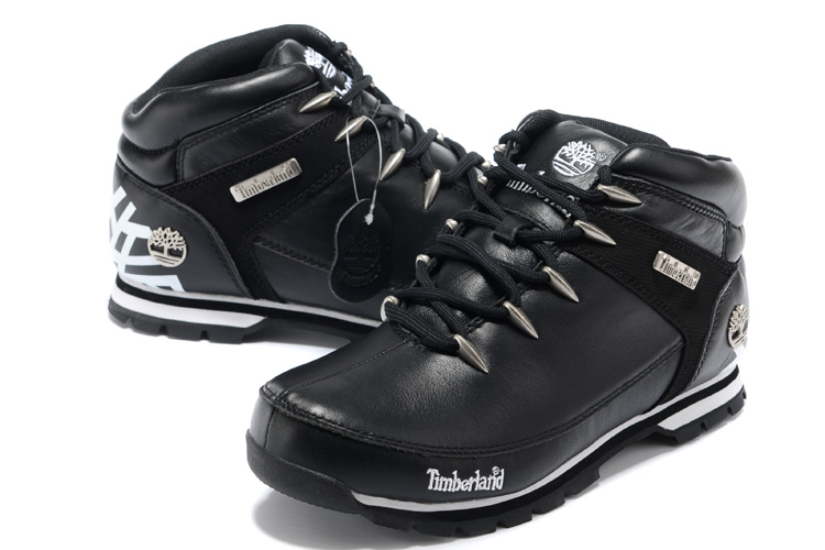 chaussures timberland hommes cuir noir